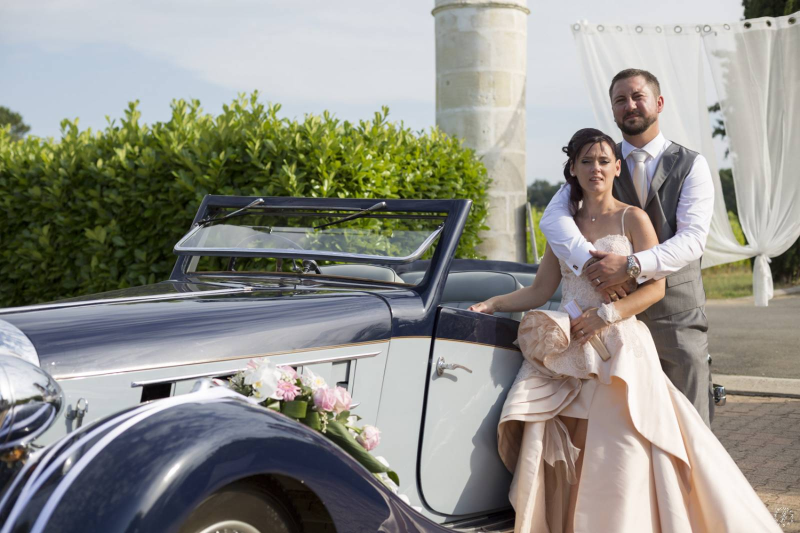 Mariage Charlene Benoit Mariage Chic Et Glamour En Rose Poudre